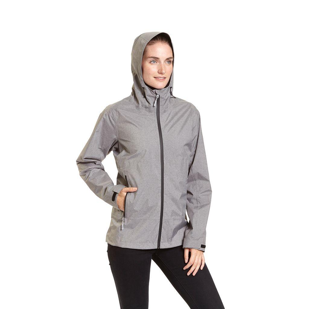 Women's Champion Hooded Waterproof Rain Jacket