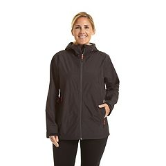 Plus Size Champion Hooded Rain Jacket