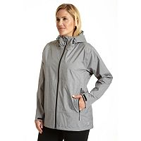 Plus Size Champion Hooded Soft Shell Rain Jacket