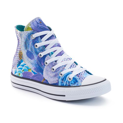 Women s Converse Chuck Taylor All Star Digital Floral High-Top Sneakers 26de88e10
