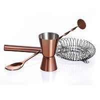 Luminarc Bar Craft Cocktail Shaker Accessory Set