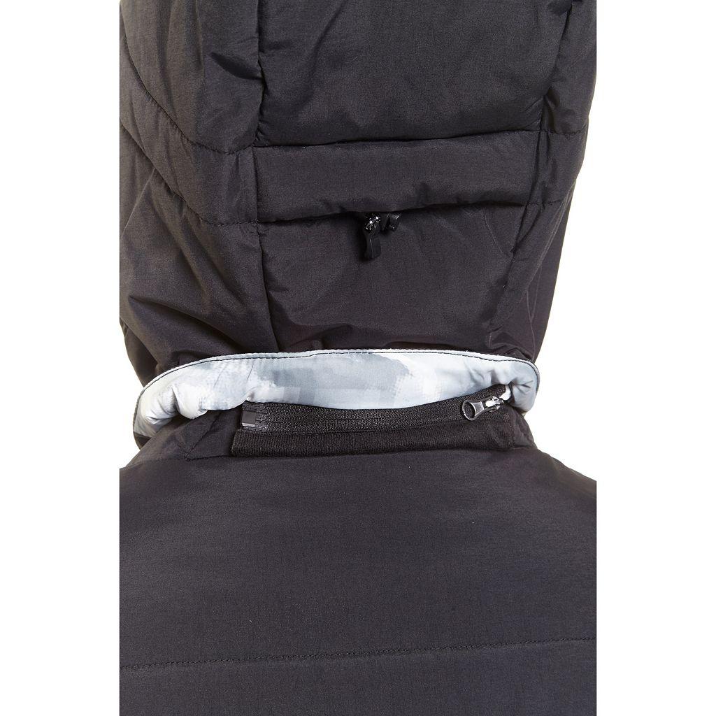 Plus Size Champion Hooded Puffer Ski Jacket