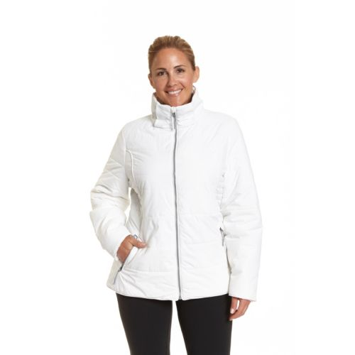 Plus Size Champion Hooded Puffer Ski Jacket