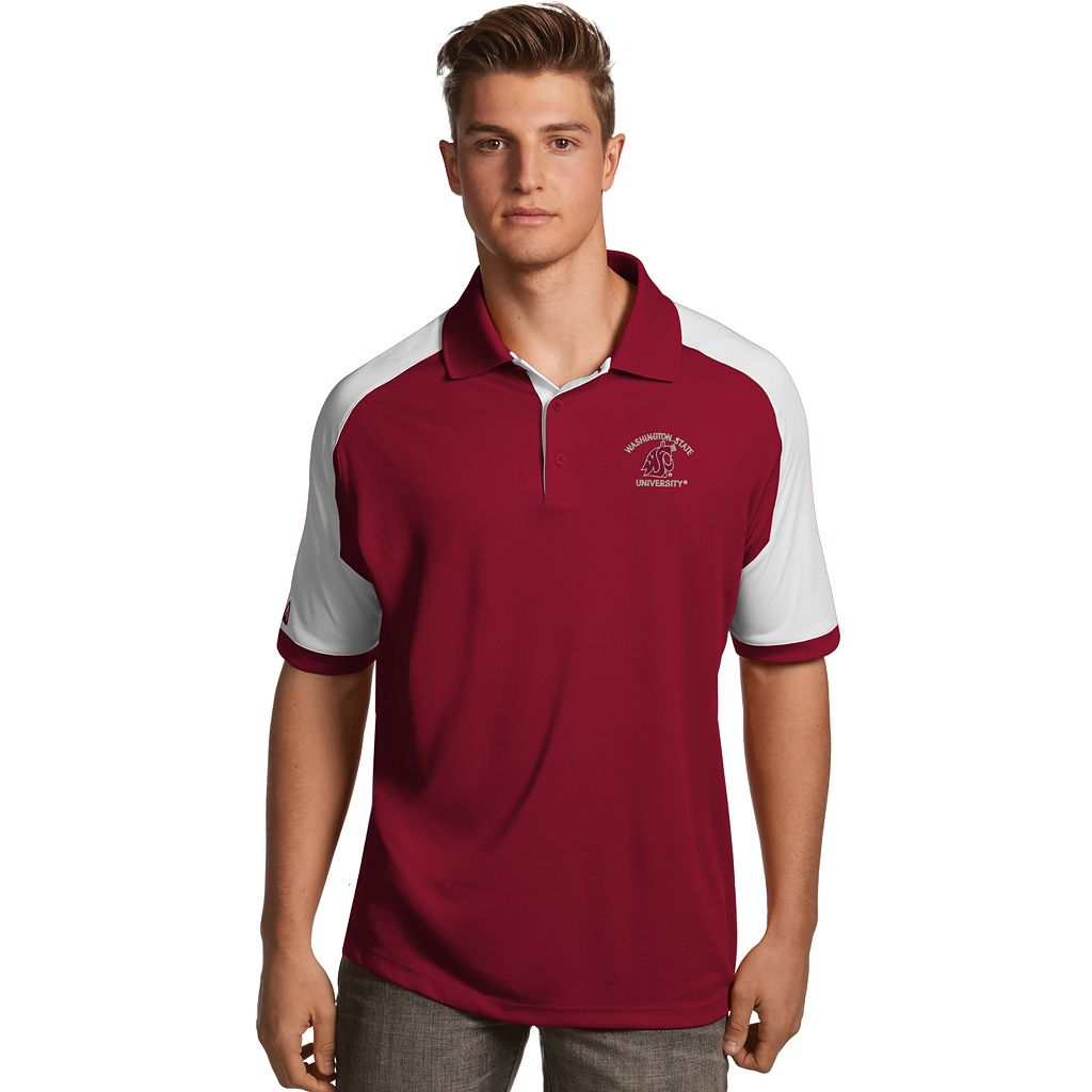 Men's Antigua Washington State Cougars Century Polo