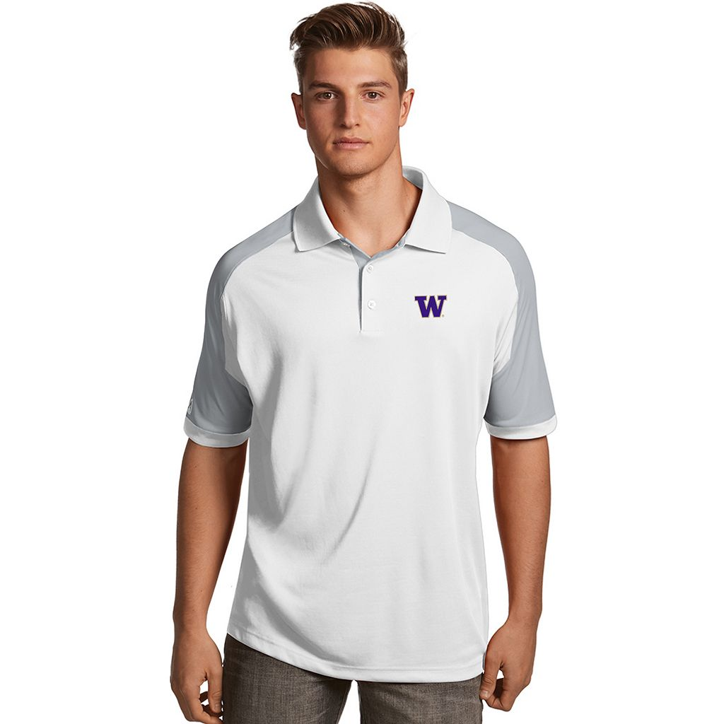 Men's Antigua Washington Huskies Century Polo
