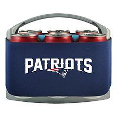 New EnglandPatriots 6-Pack Cooler Holder