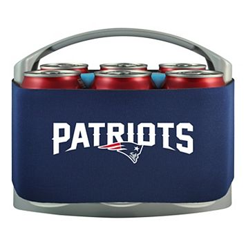 New England Patriots 6-Pack Cooler Holder