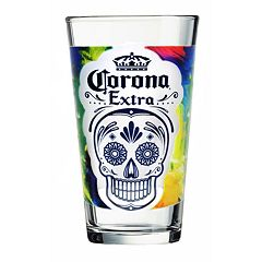 Luminarc Corona Day of the Dead 4 pc Pint Glass Set