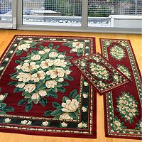 United Weavers Manhattan Framed Floral 3-pc. Rug Set