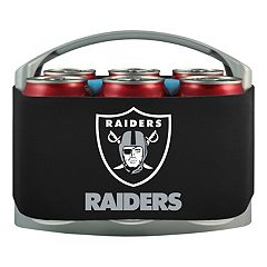 Oakland Raiders 6-Pack Cooler Holder