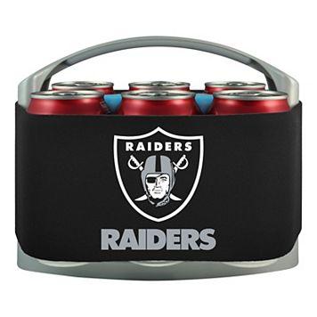 Oakland Raiders 6-Pack Cooler Holder