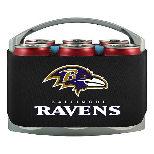 Baltimore Ravens 6-Pack Cooler Holder