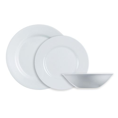 Luminarc Everyday White 12-pc. Dinnerware Set
