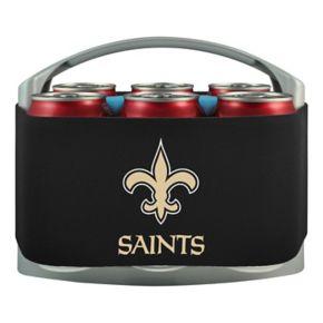 New Orleans Saints 6-Pack Cooler Holder