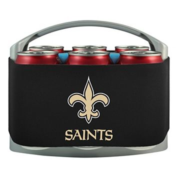 New Orleans Saints 6-Pack Cooler Holder