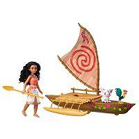 Disney's Moana Starlight Canoe & Friends by Hasbro