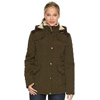 Women's Braetan Hooded Solid Quilted Jacket