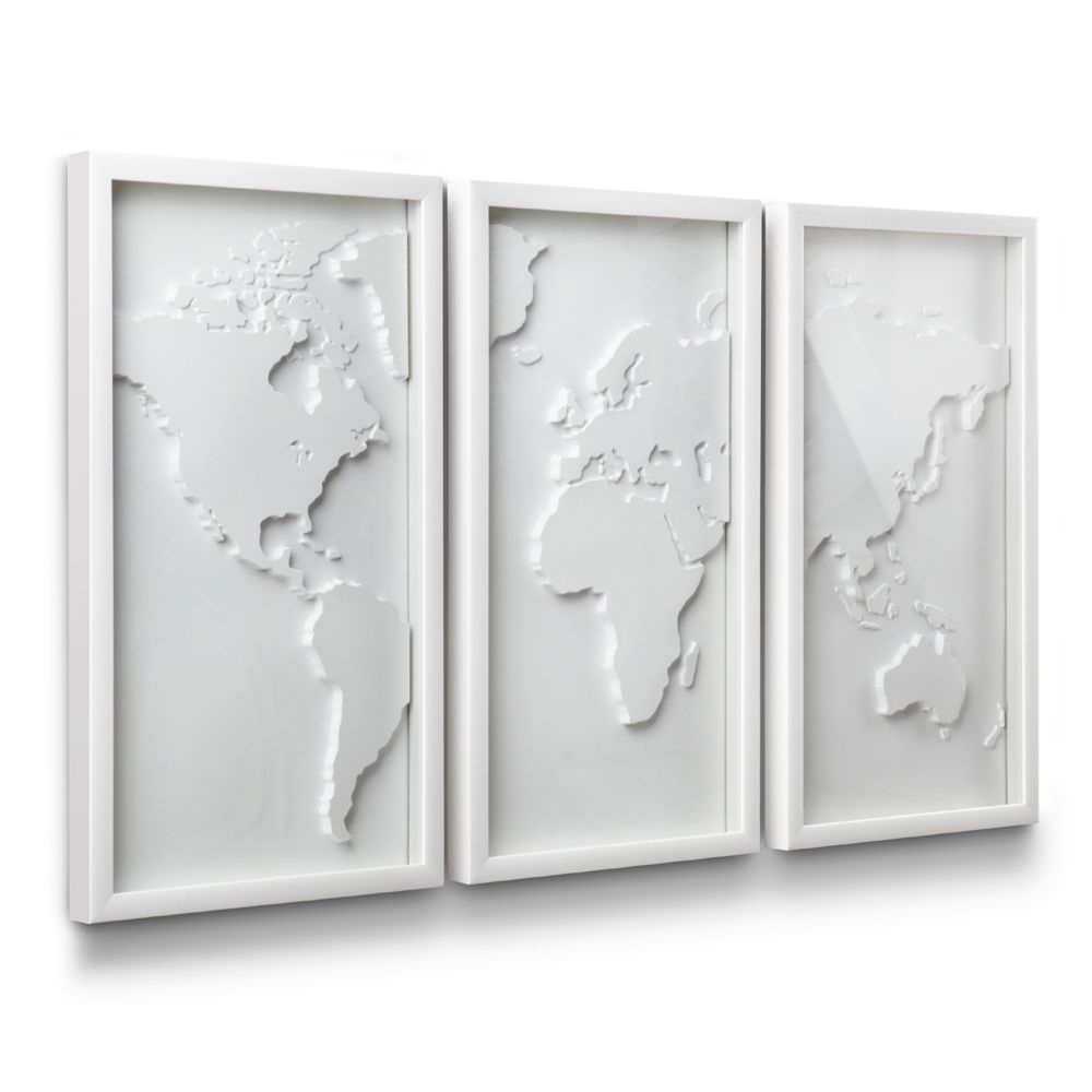 Umbra Wall Decor mapster shadow box wall decor