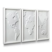 Umbra Mapster Shadow Box Wall Decor