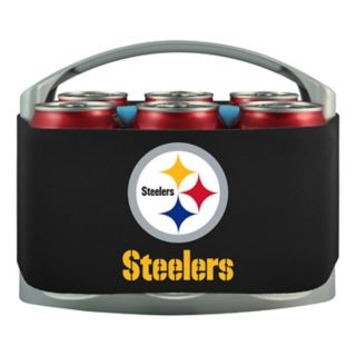 Pittsburgh Steelers 6-Pack Cooler Holder