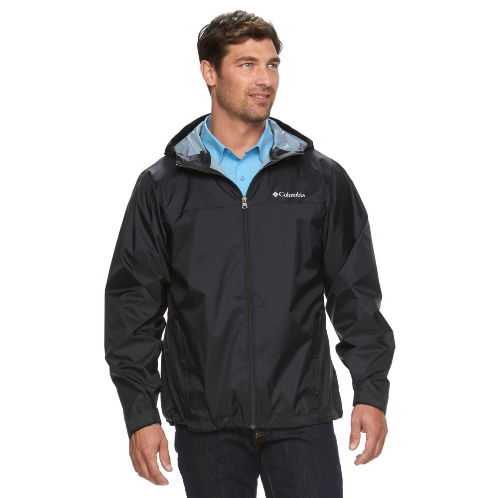 Columbia Weather Drain Rain Jacket
