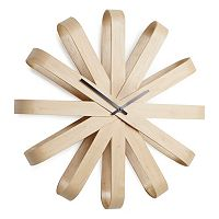 Umbra Ribbon Wood Wall Clock