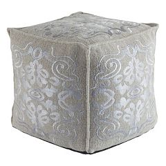 Decor 140 Blaris Wool Blend Pouf