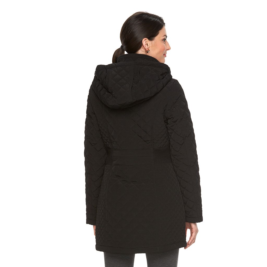 Women's Braetan Long Hooded Quilted Jacket