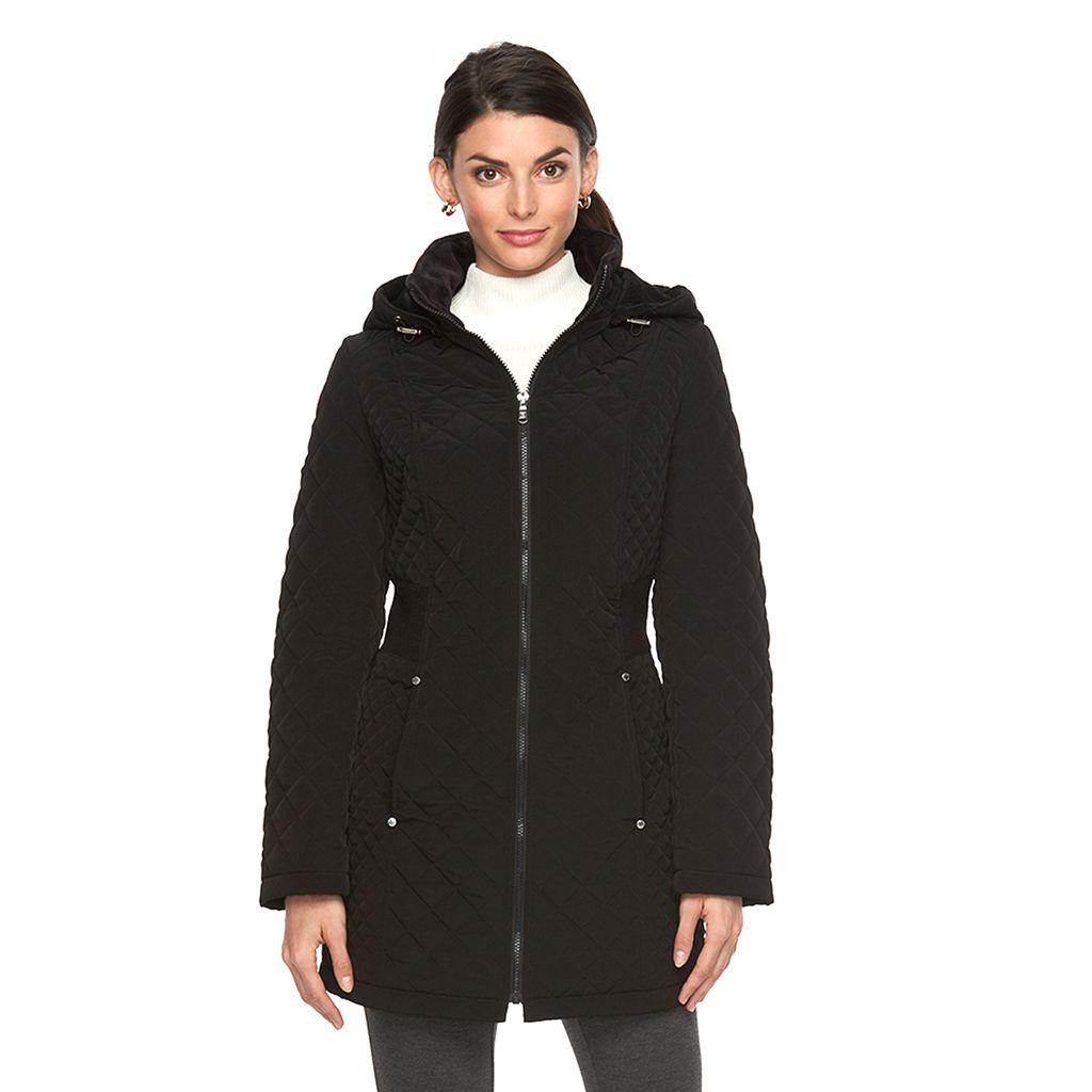 Women's Braetan Long Hooded Quilted Jacket