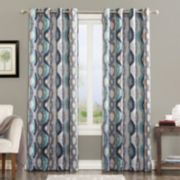 Sun Zero 1-Panel Knox Window Curtain