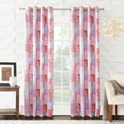 Sun Zero Brazoria Tangerine Window Curtain