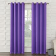 Sun Zero 1-Panel Gramercy Brights Window Curtain