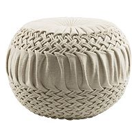 Decor 140 Rilmos Wool Blend Pouf