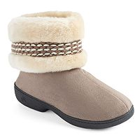 Isotoner Women's Woodlands Bootie Slippers