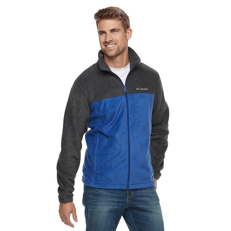 d36c7b4f3be Buy Men's Columbia Flattop Ridge Fleece Jacket, Size: Medium, Blue ...