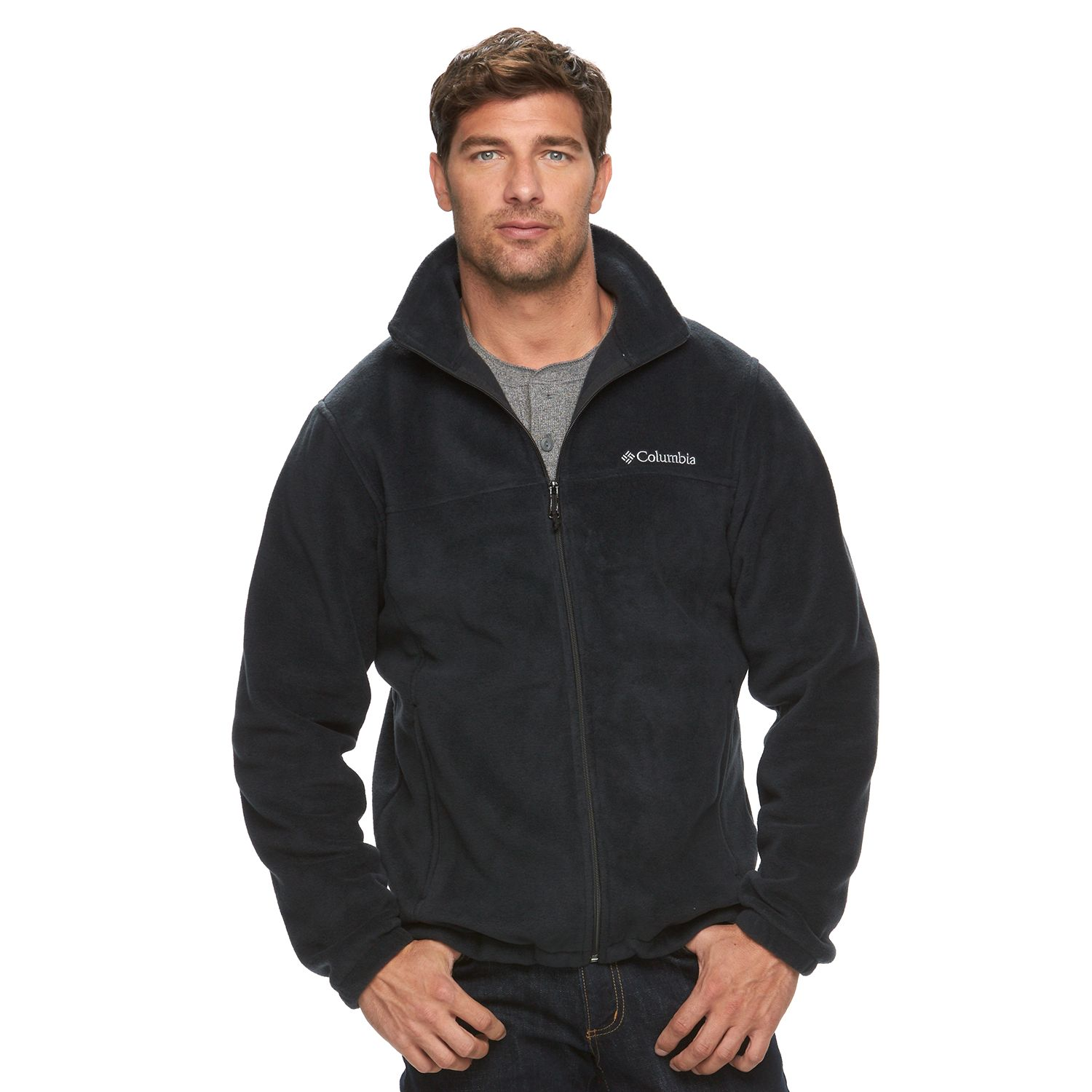 Men\u0027s Columbia Flattop Ridge Fleece Jacket