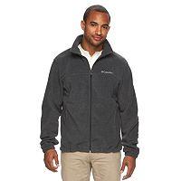 Columbia Mens Flattop Ridge Fleece Jacket (Charcoal Heather)