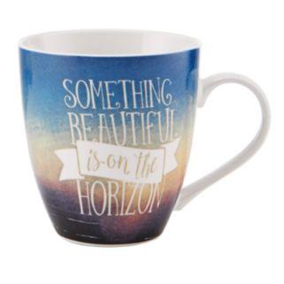 "Pfaltzgraff ""Something Beautiful is on the Horizon"" Mug"