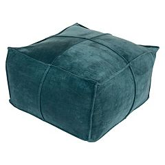 Decor 140 Belinda Cotton Velvet Pouf