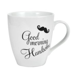 "Pfaltzgraff ""Good Morning Handsome"" Mug"