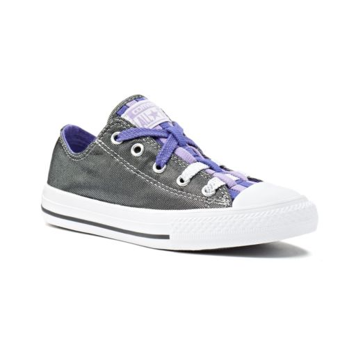 Kid's Converse Chuck Taylor All Star Loopholes Metallic Shimmer Shoes