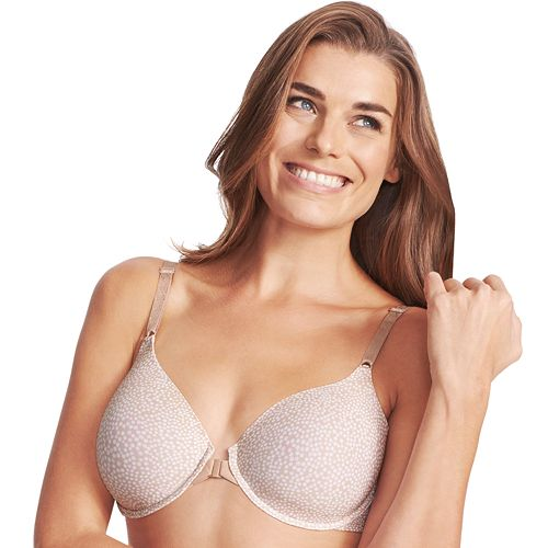 09a27b3a3a Olga Bra  To A Tee Front-Close Full-Figure Contour T-Shirt Bra GB2451A -  Women s