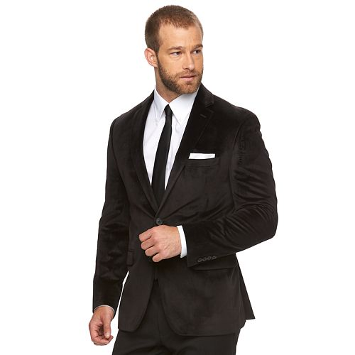 Men's Van Heusen Slim-Fit Flex Stretch Velvet Sport Coat