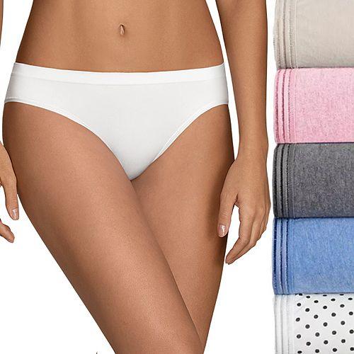 Fruit of the Loom 5-pack Ultra Soft Bikini Panties 5DUSKBK