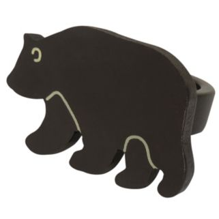 Park B. Smith Brown Bear Napkin Ring 12-pk.