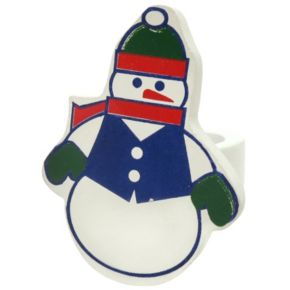 Park B. Smith Snowman Napkin Ring 12-pk.