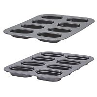 Baker's Advantage Fillable Mini Loaf Pan