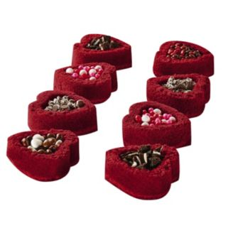 Baker's Advantage Fillable Heart Mini Loaf Pan
