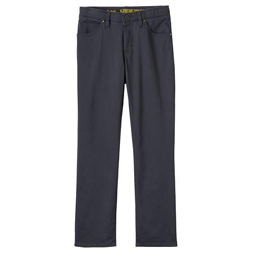 Boys 8-20 & Husky Lee Sport Xtreme Comfort Slim-Fit Charcoal Pants