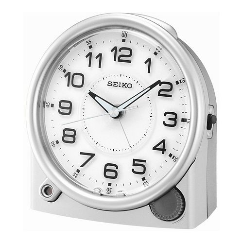 seiko alarm clock instructions